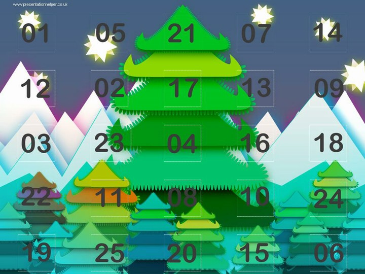 Online Christmas Calendar 2020 Free Online Advent Calendar from Presentation Magazine