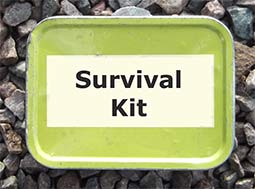 A tobacco kin makes a great survival kit