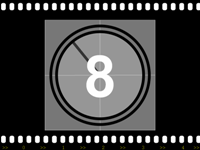 Filmstrip with countdown timer