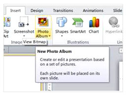 Figure 1: Create New Photo Album