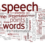 how many words in a 10 minute speech Transcription industry standards dictate that 10 to 15 minutes of speech takes one hour to type and therefore a 60 minute recording should take somewhere between 4 and 6 hours to transcribe, based on a good quality recording without any hindering factors.