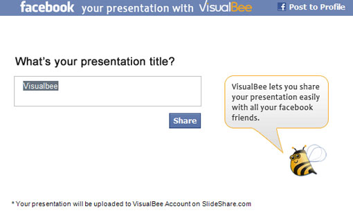 screenshot of shared test presentation
