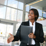 Using body language in business