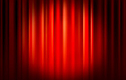 Powerpoint curtain template window curtains drapes abstract art powerpoint template toneelgroepblik Image collections