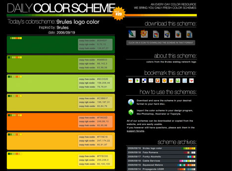 perfect colour combinations for your presentation