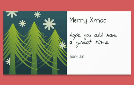 Online christmas card maker example christmas card reheart Images