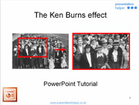 Download Ken Burns Effect in PowerPoint Format