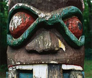 photo of totem pole