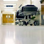 Image of a hospital trolley