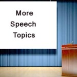 More speech topics