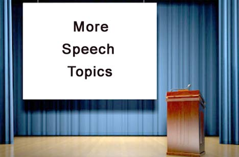 interesting speech topics for grade 11