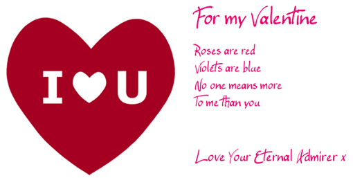 Make your own Valentine's Card using our free card maker
