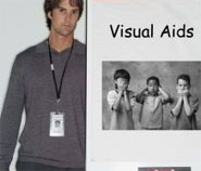 how to use visual aids in oral presentation