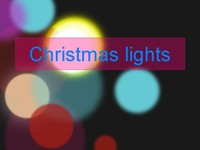 Christmas Lights Template thumbnail