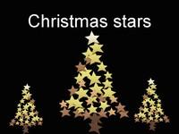 Christmas Stars Template