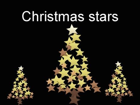 Christmas stars template toneelgroepblik Images