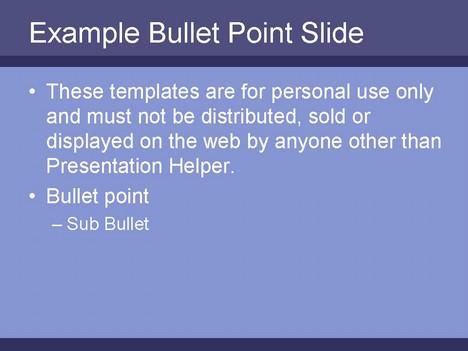 Strips Purple inside page