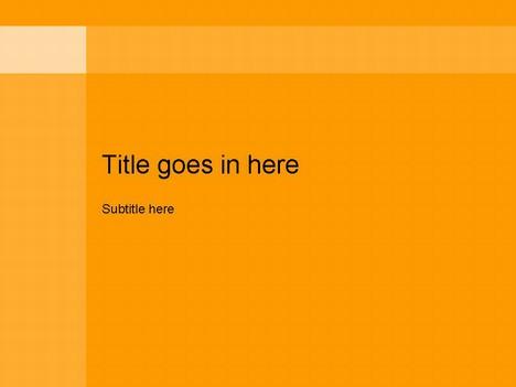 Free PowerPoint Template Builder Orange