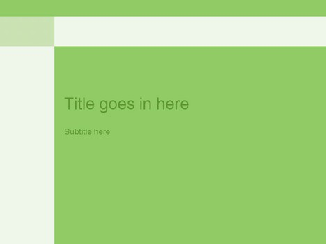 free powerpoint template builder  green, Powerpoint