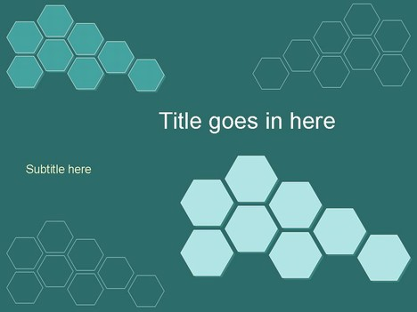 Free powerpoint template builder green 2 hexagons download ppt page toneelgroepblik Gallery