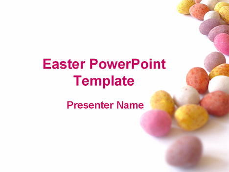 Presentation magazine easter easter pastel eggs powerpoint template thumbnail toneelgroepblik Image collections