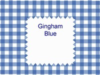 Gingham Blue Template thumbnail