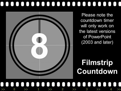 Filmstrip with countdown toneelgroepblik Image collections
