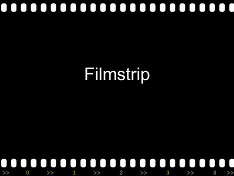 Filmstrip with Countdown inside page