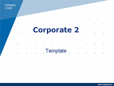 Corporate powerpoint template 2 toneelgroepblik