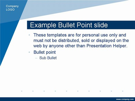 corporate slide presentation