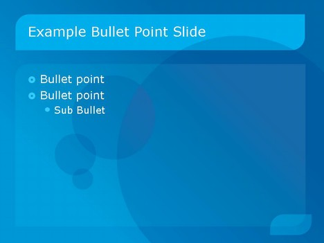 Business 1 PowerPoint Template inside page