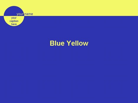blue yellow, Blue Presentation Template, Presentation templates