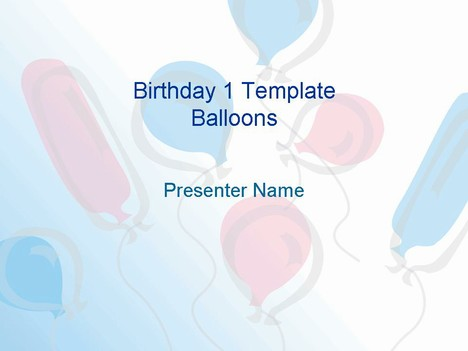presentation magazine - birthday powerpoint templates, Powerpoint templates