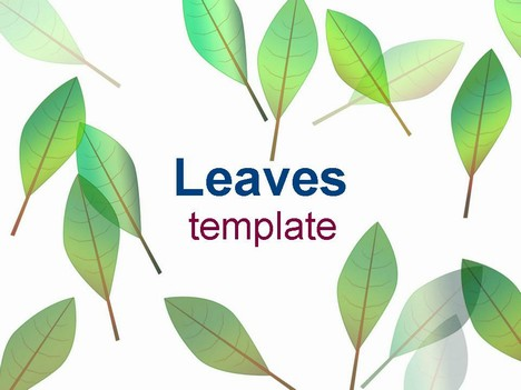 Leaves Template – Leave Templates