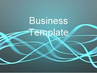 Light Streaks Business Template