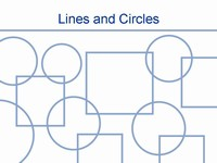Lines and Circles Template