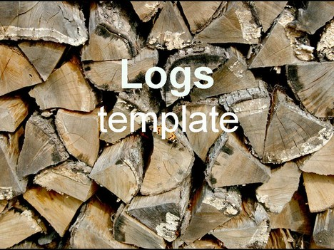 Logs powerpoint template toneelgroepblik Image collections