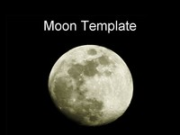 Moon PowerPoint Template thumbnail