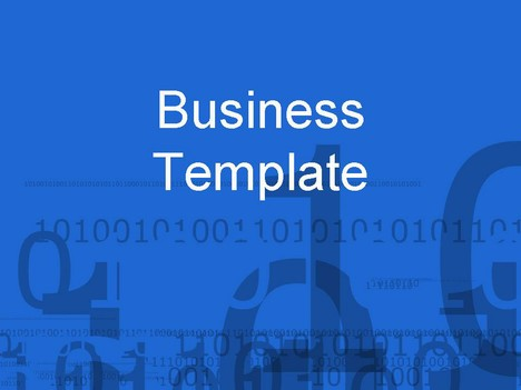 Numbers Business Template