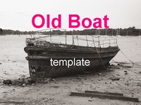 Old boat template
