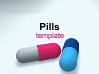 Pills medical PowerPoint template