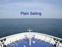 Plain sailing PowerPoint template thumbnail