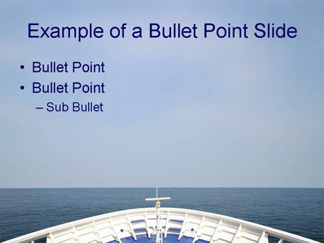 Plain Sailing Point Template Inside Page