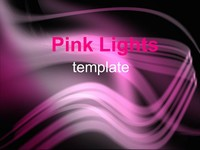 Pink lights template