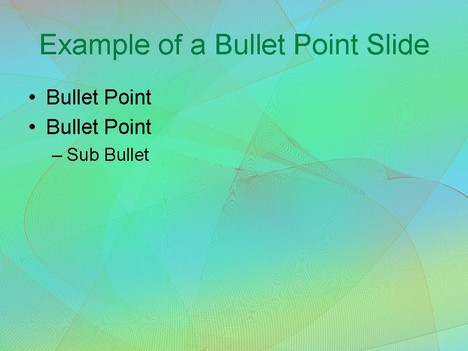 Subtle Grid PowerPoint Template inside page