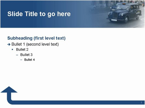 Taxi Template inside page