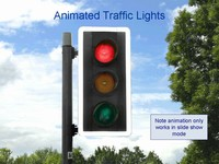 Traffic Lights Animated Template thumbnail