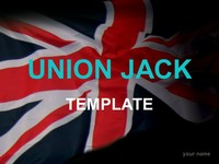 Union Jack Template thumbnail