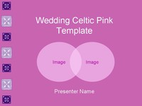 Wedding Celtic Pink Template