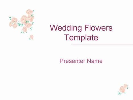 Wedding flower template toneelgroepblik Choice Image